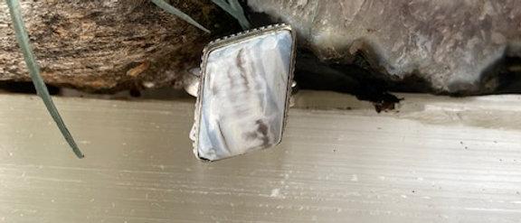 Owyhee Blue Opal Ring Size 9