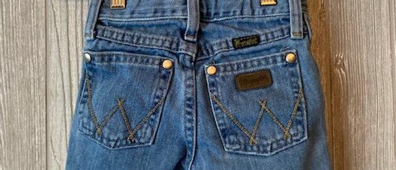 Vintage Kids Wrangler Cut Off Shorts Size 3T