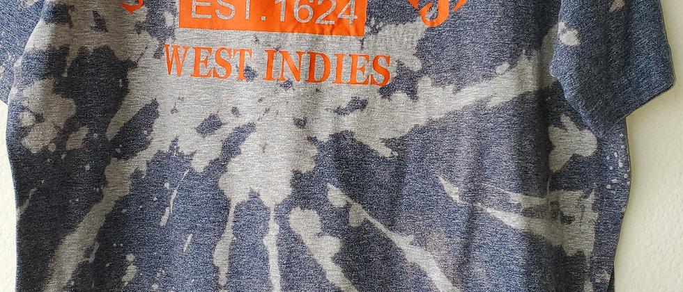 Vintage Tie Dye ST. KITTS & NEVIS Shirt-XL