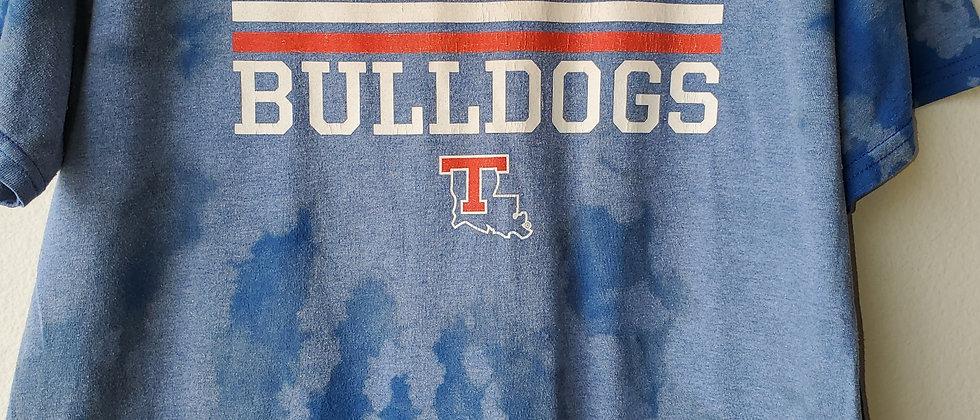 Vintage Tie Dye LA TECH BULLDOGS Shirt-Large