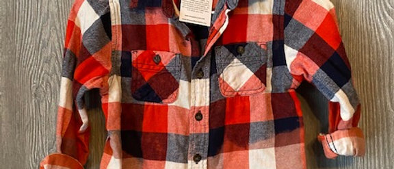 Youth Flannel Size 6