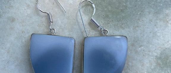 Owyhee Blue Opal Earrings