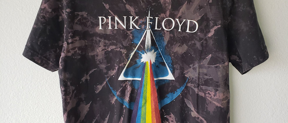 Pink Floyd Prism Acid Splashed Tee Shirt