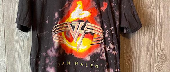 Van Halen Acid Splashed Tee Shirt