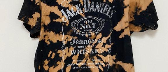 Vintage Tie Dye JACK DANIELS Shirt-Small