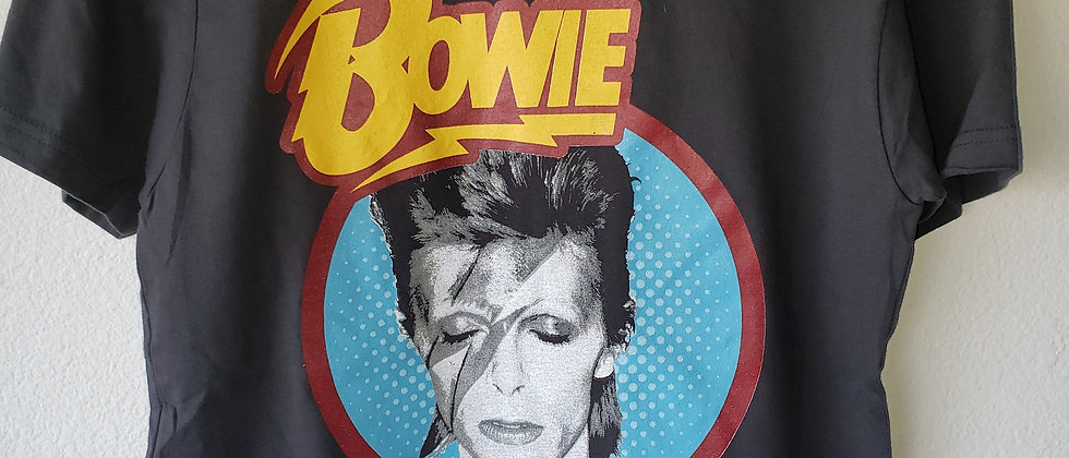 Distressed Bowie Tee Shirt