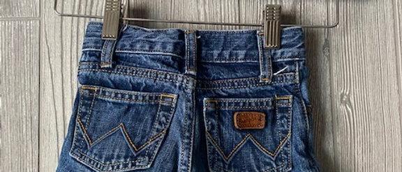 Vintage Kids Wrangler Cut Off Shorts Size 18 months