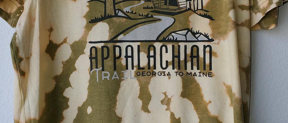 Vintage Tie Dye APPALACHIAN TRAIL  Shirt-Medium