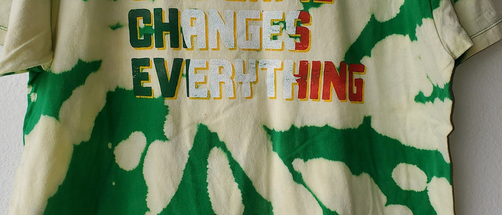 Vintage Tie Dye ONE GAME CHANGES EVERYTHING Shirt-Large