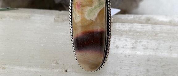 Mookaite Jasper Ring Size 6