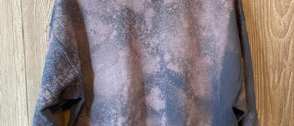 Acid Splashed Sweatshirt Dusk 2XL-4XL