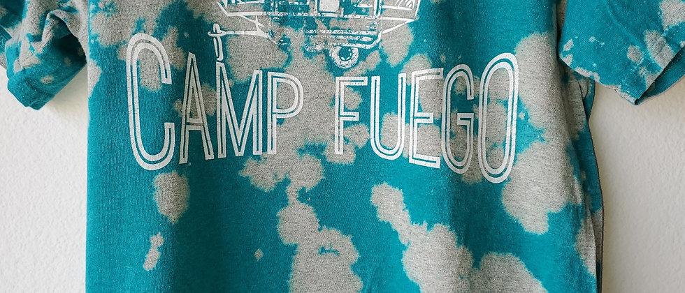 Vintage Tie Dye CAMP FUEGO Shirt-Medium