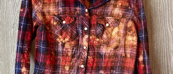 Youth Lightweight Plaid Size 16