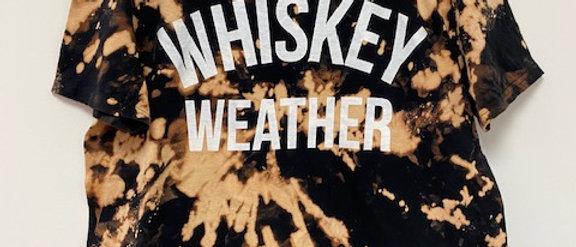 Vintage Tie Dye Whiskey Weather Shirt-Large