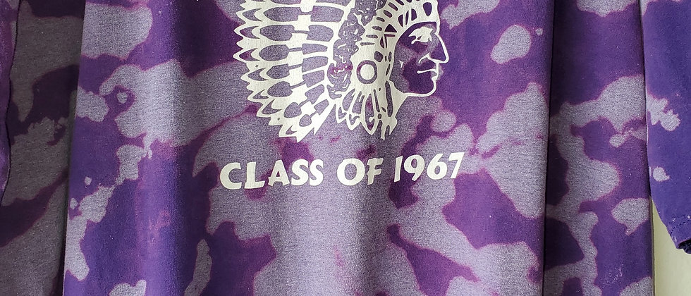 Vintage Tie Dye JACKSON HIGH 67 Shirt-2XL