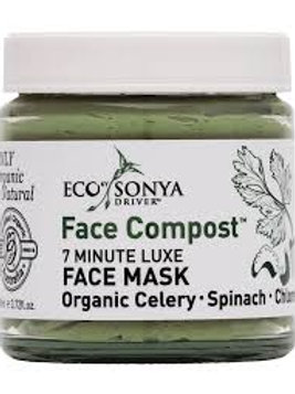 FACE COMPOST ORGANIC LUXE 7 MINUTE MASK -Eco by Sonya