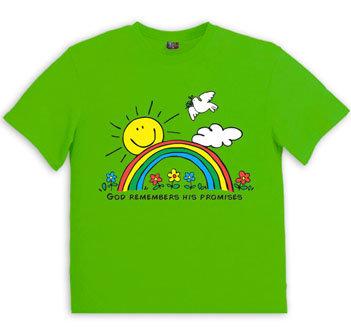 Childrens shirt : Rainbow