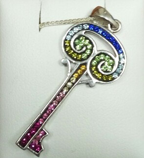 """Key"" Silver Pendant no. 1"