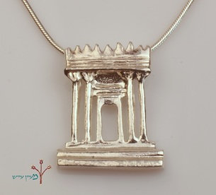 Temple Silver Necklace
