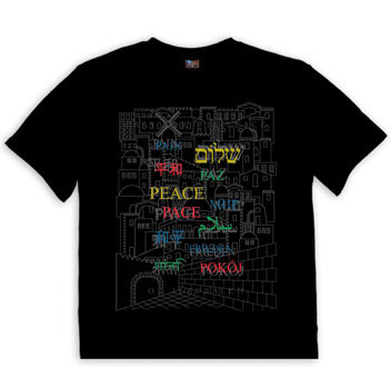 Peace in different languages Shirt