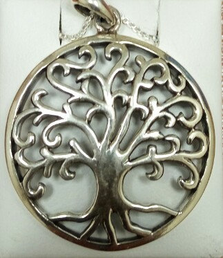 """Tree of Life"" Silver Pendant no. 1 (Big Size)"