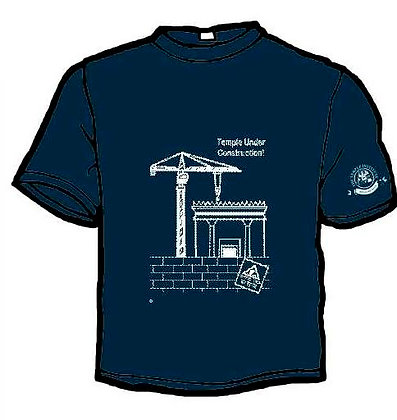 The Temple Under Construction Shirt