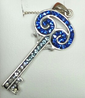 """Key"" Silver Pendant no. 2"