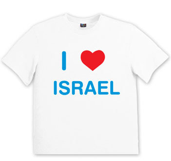 Popular I Love Israel Shirt