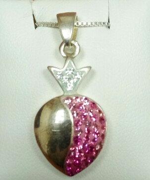 """""""Pomegranate"""" Silver Pendant no. 1"""