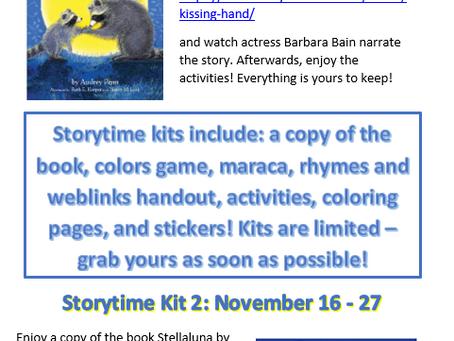 November Online Storytime