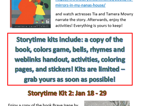 January Storytime Books