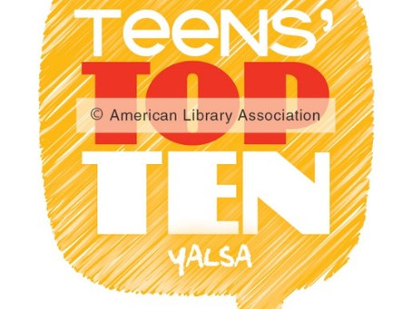 Teens' Top Ten Books Winners