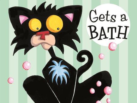 Bad Kitty Gets A Bath - Online Book Club