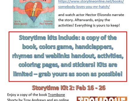 February Online Storytime