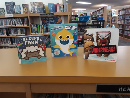 New Children's Easy Reader and Board Books July 2020