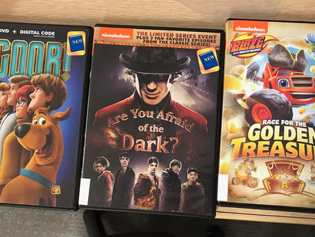 New Children's and Family DVDs