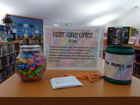Easter Candy Contest