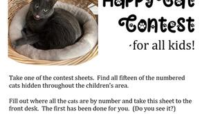 Celebrate Happy Cat Month