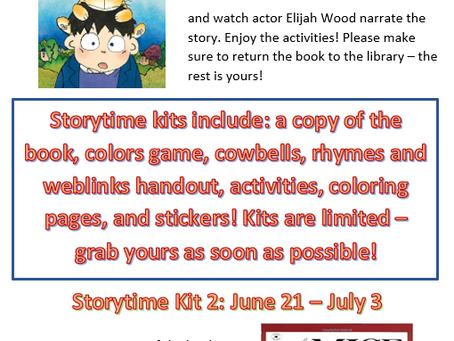 June Online Storytime - Sneak Peak