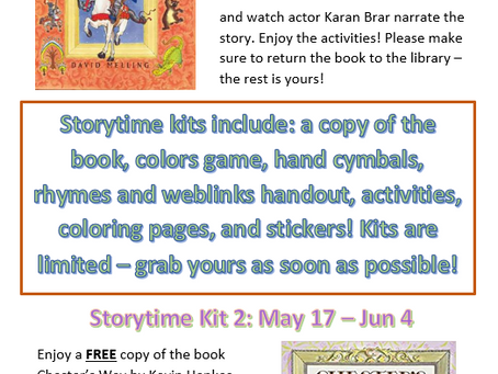 May Storytime Online Books