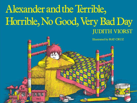 Alexander and the Terrible, Horrible, No Good, Very Bad Day - Online Book Club