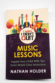 I Wish I Didn't Quit: Music Lessons Book