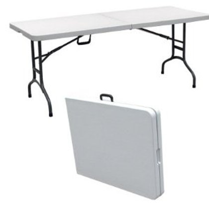 6' Foldable Plastic Table