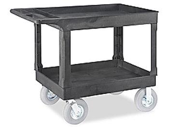 Rubbermaid 2-Shelf Cart