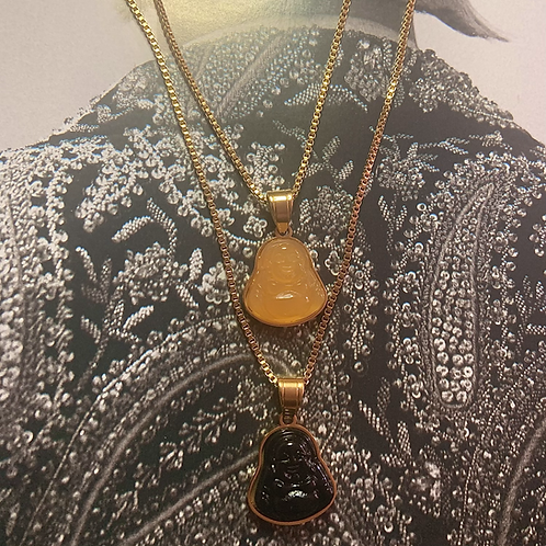 Mini Buddha Necklace