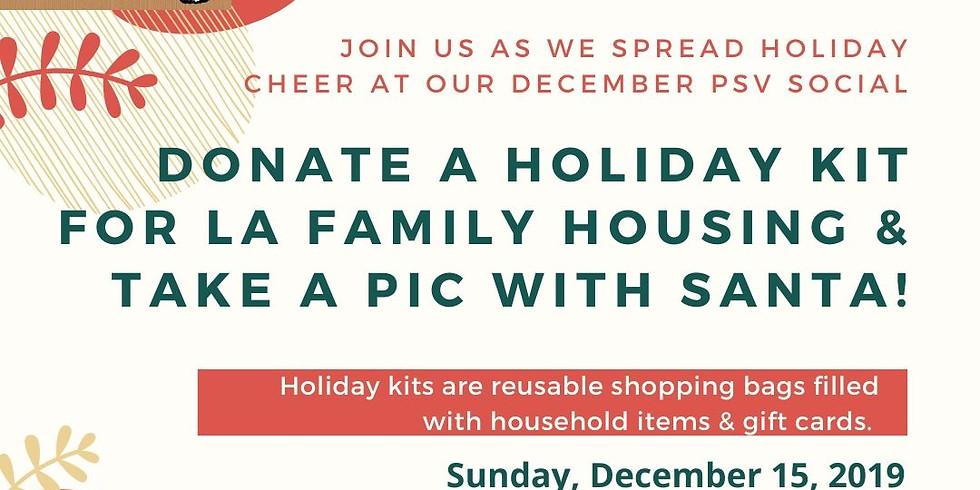 PSV Holiday Kit Drive & Santa!