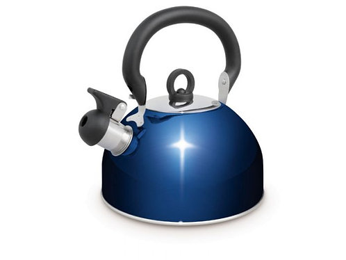 Blue Whistling Kettle 2.5L
