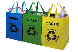 Set of 3 Recycle bags