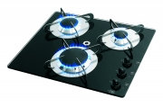 CAN Crystal 3 Burner Hob