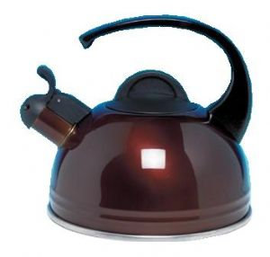 Brown Whistling Kettle 2LTR